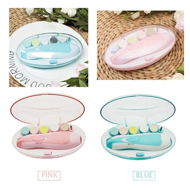 Electric Nail Clipper Baby Nail Trimmer Safe Cutter Manicure Pedicure Clipper Cutter Scissors Kids Infant Nail Care 1