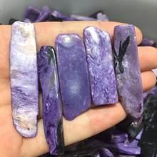 Pedra ponto de pedra caroite natural 5 peças, cristal de quartzo fritas, cura meditação, áspero, pedra mineral para decoração de casa