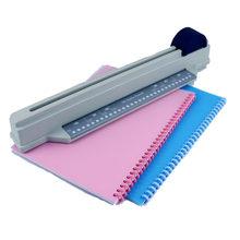 Perforadora de agujeros de papel para oficina, perforadora de hoja suelta hecha a mano, A4(30 agujeros) B5(26 agujeros) A5(20 agujeros), orificios múltiples