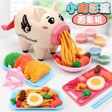 Отправка коробки формы лапши производитель игрушка пластилин Копилка набор инструментов детская цветная глина Xiangpi Ultra-GIRL'S