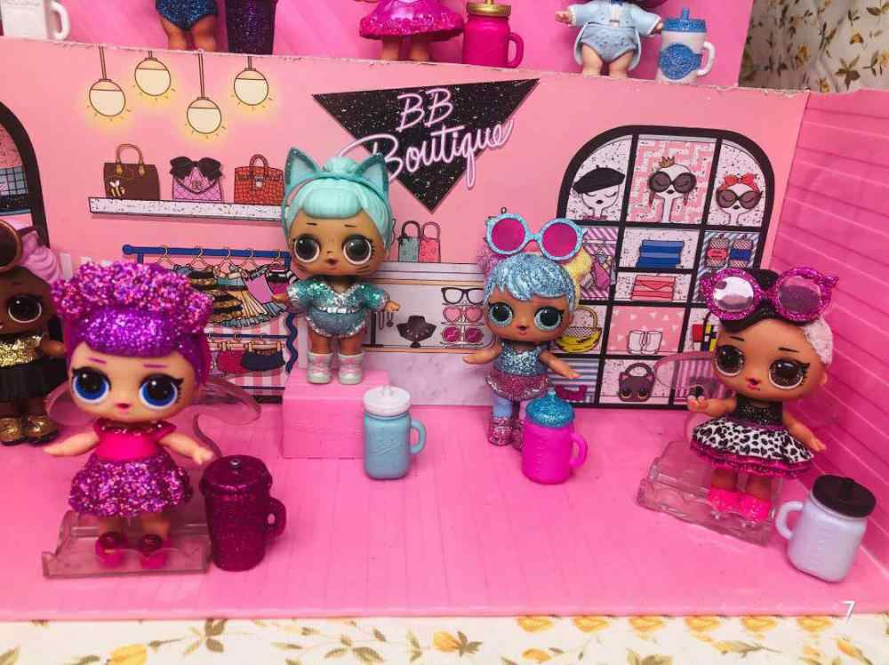 Original lol surprise 8cm muñeca LOL muñeca estilos pueden ser seleccionados juguetes regalo de niña