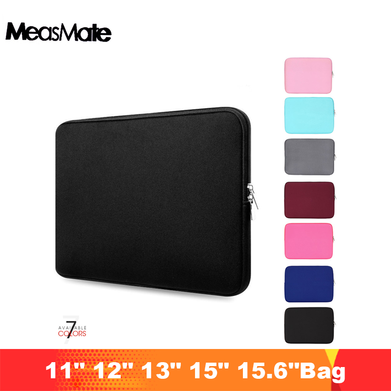 "Laptop Case Tablet Sleeve Cover Bag 11"" 12"" 13"" 15"" 15.6"" for Macbook Pro Air Retina 14 inch for Xiaomi Huawei HP Dell"