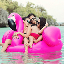 Best Summer Pool Float Giant Inflatable Flamingo Swimming Pool Mattress Swim Raft Floatie Lounger For Adult And Children цены онлайн