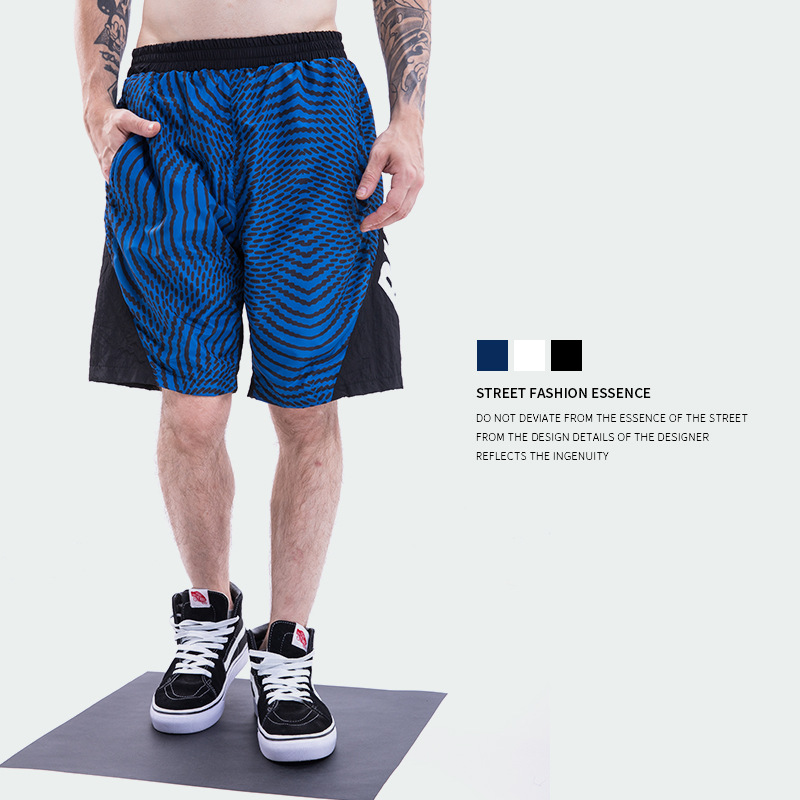 Palace Life Popular Brand Men'S Wear Triangular Swirl Shorts Joint Quick-Dry Spiral Pill Men Shorts
