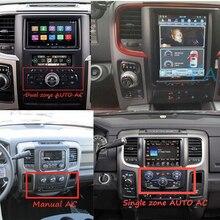 Auto Radio Android 2 Din Tesla Vertikale Bildschirm GPS Navigation Für Dodge RAM 1500 2013-2018 Auto Stereo Empfänger multimedia-Player