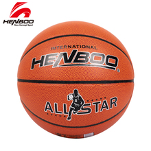цена на HENBOO Wholesale or retail NEW Brand Cheap GL7 Basketball Ball PVC Materia Official Size7 Basketball Free With Net Bag+ Needle