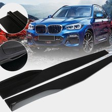For74.5cm car side skirt rocker arm separator small wing bumper