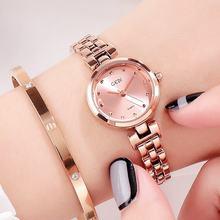 Наручные часы с маленьким циферблатом f Женские новогодние подарки