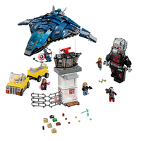 Marvel's Captain America 3 Civil War Giant Ant Man Super Heroes Airport Battle Legoin Avengers Bricks Blocks for Movie 76051