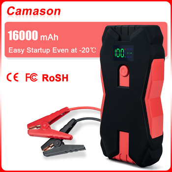 Camason Car Jump Starter Power Bank 1000A Starting Device Battery Car Auto Emergency Booster Charger Jump Start baseus 8000a car jump starter battery power bank high capacity starting device booster auto vehicle emergency battery booster