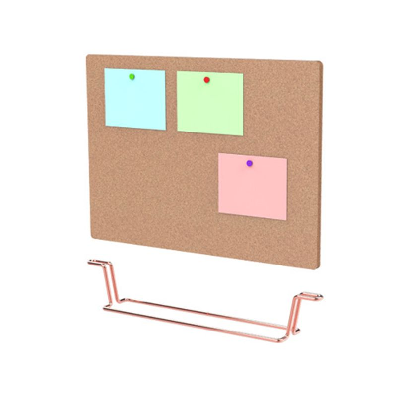 Natural Message Cork Board Environmentally Memo Pinboard Notice Display Supply