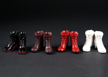 цена на 1/6 Scale Female Solider Figure Accessory High Heel Boots Shoes with Full Set inside Model for 12 '' Woman Action Figure Doll