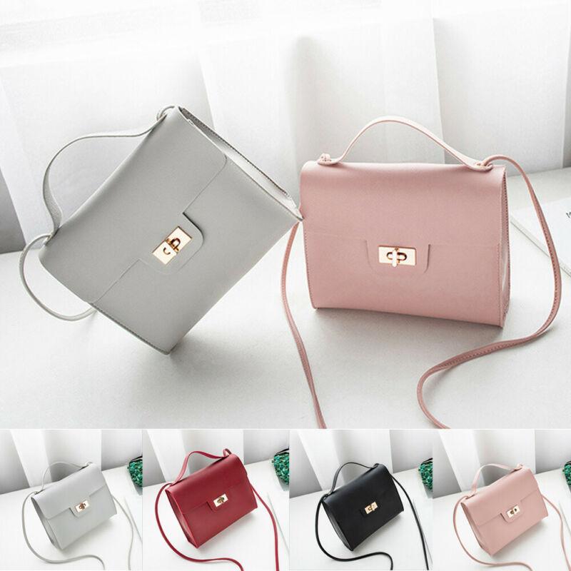 British Fashion Simple Small Bag Square Women's Designer Handbag 2019 High Quality PU Leather Mobile Phone Satchel Small Bags