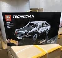 NEW IN STOCK AE 86 Fast Super Car Furiou Compatible Technic Moc Series Model Building Blocks Bricks Toys lepinbricks Gifts