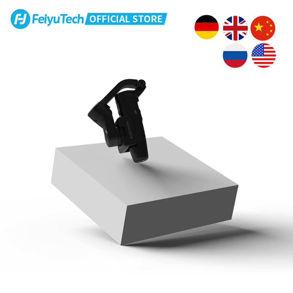 FeiyuTech Vlog Pocket Foldable 3-Axis Handheld Gimbal Smartphone Stabilizer Selfie Stick for iPhone 11 X XS Samsung Note9 3