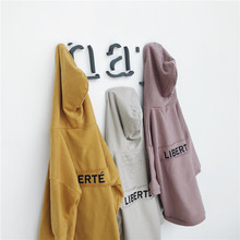 Letters with Caps Baby Cotton Casual Hoodies Outerwear Clothes