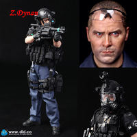 DID 1/6 Scale Los Angeles Policeman Action Figures LAPD SWAT 2.0 Denver MA1006 Model Children Toys Soldier Figures Collections