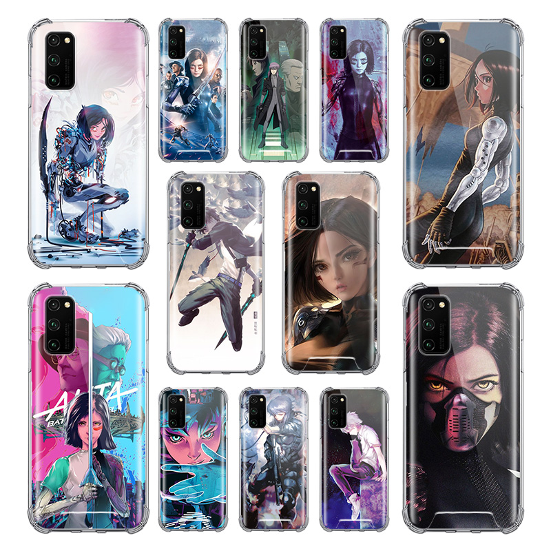 <font><b>Ghost</b></font> <font><b>In</b></font> <font><b>The</b></font> <font><b>Shell</b></font> <font><b>Case</b></font> for Huawei Honor 9S 9A 9C 20 8X 20S 20e 9X Pro 10 Lite Airbag Anti Fall TPU Phone Covers image