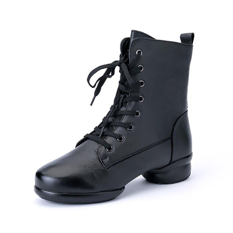 Genuine Leather Jazz Shoes Latin Shoes For Dancing Men Dance Shoes Ballroom Dancing Shoes Tango Shoes Man Dance Sneakers MA01