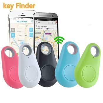 Bluetooth Key Finder Smart Anti-Lost Device Anti-Lost Keychain Mobile Phone Lost Alarm Bi-Directional Finder Anti-Lost Artifact