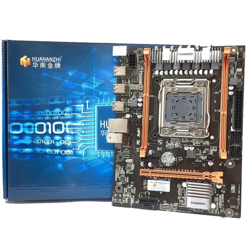 HUANANZHI X79-4M LGA2011 DDR3 PC Desktops LGA 2011 Computer Motherboards Suitable For Server ECC ECC REG RAM