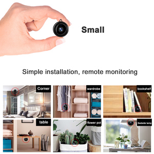 Image 2 - IP Camera Wifi Mini HD1080P Home Security Wireless Small CCTV Infrared Night Vision Motion Detection SD Card Slot Audio V380 APP