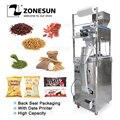 ZONESUN 10-1000 г большая емкость  Автоматическое наполнение запечатывание  машина для упаковки пищевых продуктов  кофе  бобов  зерен  мешок питани...