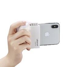 Smartphone Selfie Booster uchwyt rękojeści uchwyt stabilizatora fotograficznego Bluetooth z zwolnienie migawki 1/4 stojak na telefon ze śrubą