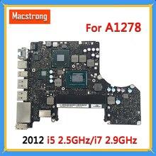 """ทดสอบ Original A1278 เมนบอร์ดสำหรับ MacBook Pro 2012 13 """"A1278 Logic BOARD i5 2.5GHz / i7 2.9GHz MD101 MD102 820 3115 B"""