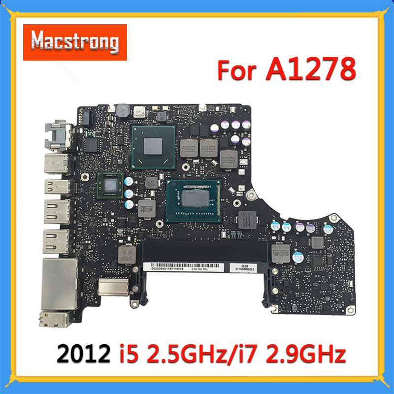 Tested Original A1278 Motherboard For MacBook Pro 2012 13