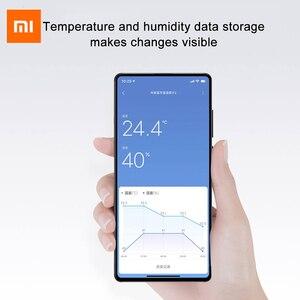 Image 5 - החדש XIAOMI Mijia Bluetooth מדחום 2 אלחוטי Bluetooth חכם חשמלי דיגיטלי מדדי לחות מדחום לעבוד עם Mijia APP