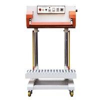 500 w 수직 공압 씰링 기계 QLF-700A 큰 가방 씰링 기계 비닐 봉투 씰링 기계 자동 씰링 기계