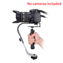 Universal Portable Aluminum Alloy Camera Stabilizer Accessories DV Multifunctional Handheld Curved Design Gimbal Video For SLR