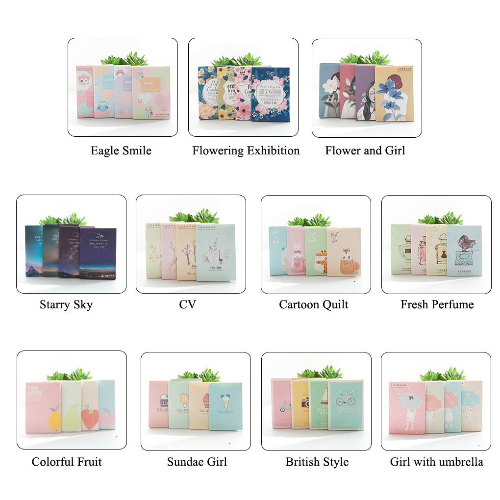 Portable Facial Absorbent Paper Oil Control Wipes Absorbing Sheet  50PCS/Set Oily Face Cleansing Matting Tissue
