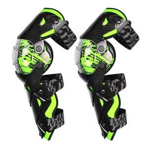 Image 1 - Motorcycle carbon fiber knee pads four seasons knight riding anti fall motorcycle off road protective gear leggings equipment