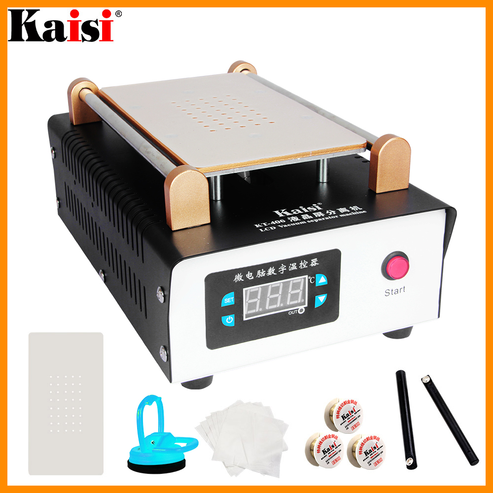 LCD Separator Machine Screen Built-in Pump Vacuum Touch Screen Separator Max 9 Inches Mobile Phone Disassemble Repair Tool