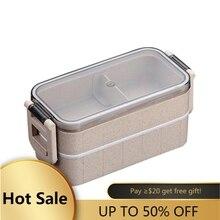 Vente boîte à déjeuner pour étudiant travailleur de bureau Portable boîte à déjeuner conteneur alimentaire Portable pour enfants enfants pique nique école Bento boîte
