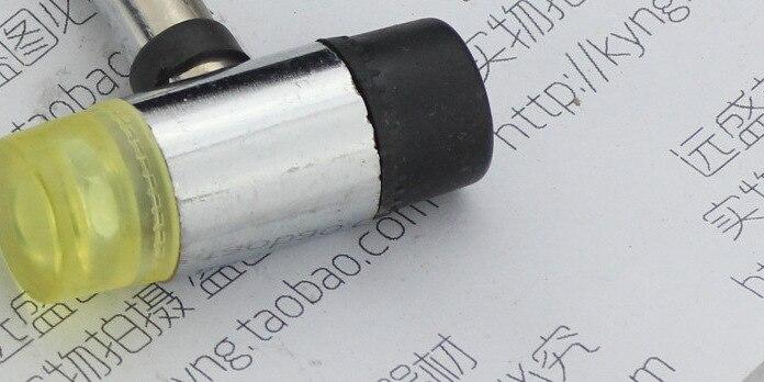 Стальная ручка установить резиновый молоток маленький пластиковый резиновый молоток ni long chui Молоток-замена молотка