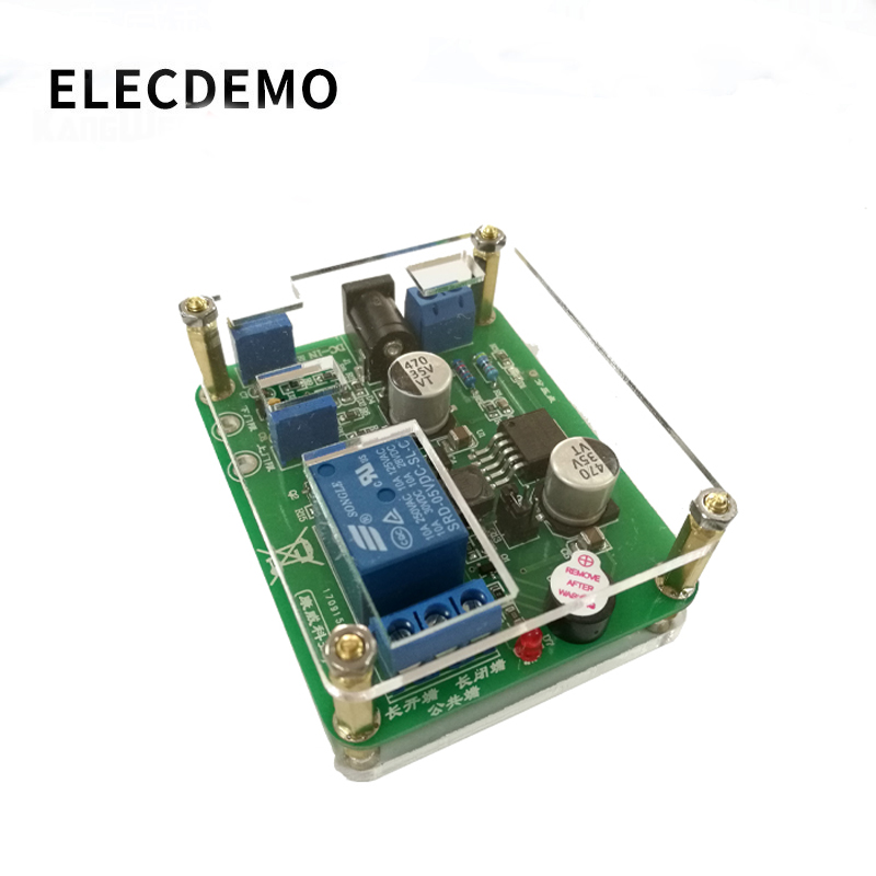 Voltage Comparison Relay Undervoltage Disconnection Protection Module Optocoupler Isolation Drive Upper And Lower Thresholds