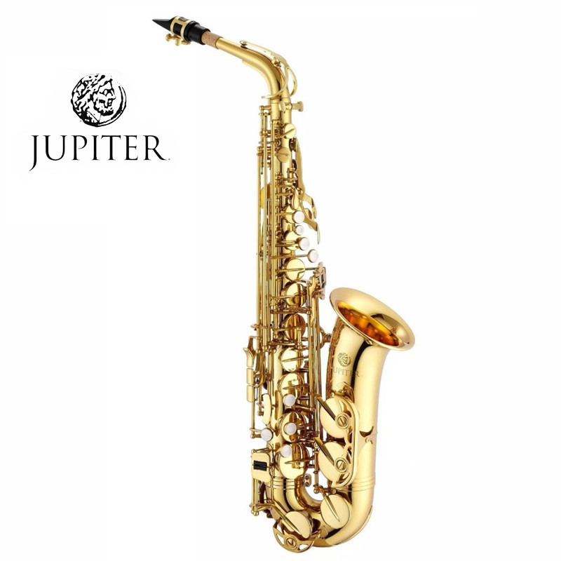 JUPITER JAS-767 New Arrival Alto Eb Tune Saxophone Brass Musical Instrument Gold Lacquer Sax With Case Mouthpiece Free Shipping