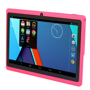 7 Inch Kids Tablet Android Quad Core Dual Camera WiFi Education Game Gift for Boys Girls,Pink