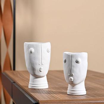 Akcesoria do dekoracji wnętrz kwiat w wazonie aranżacja ozdoby w stylu europejskim ceramiczne ozdoby nowoczesny minimalistyczny salon tanie i dobre opinie CN (pochodzenie)
