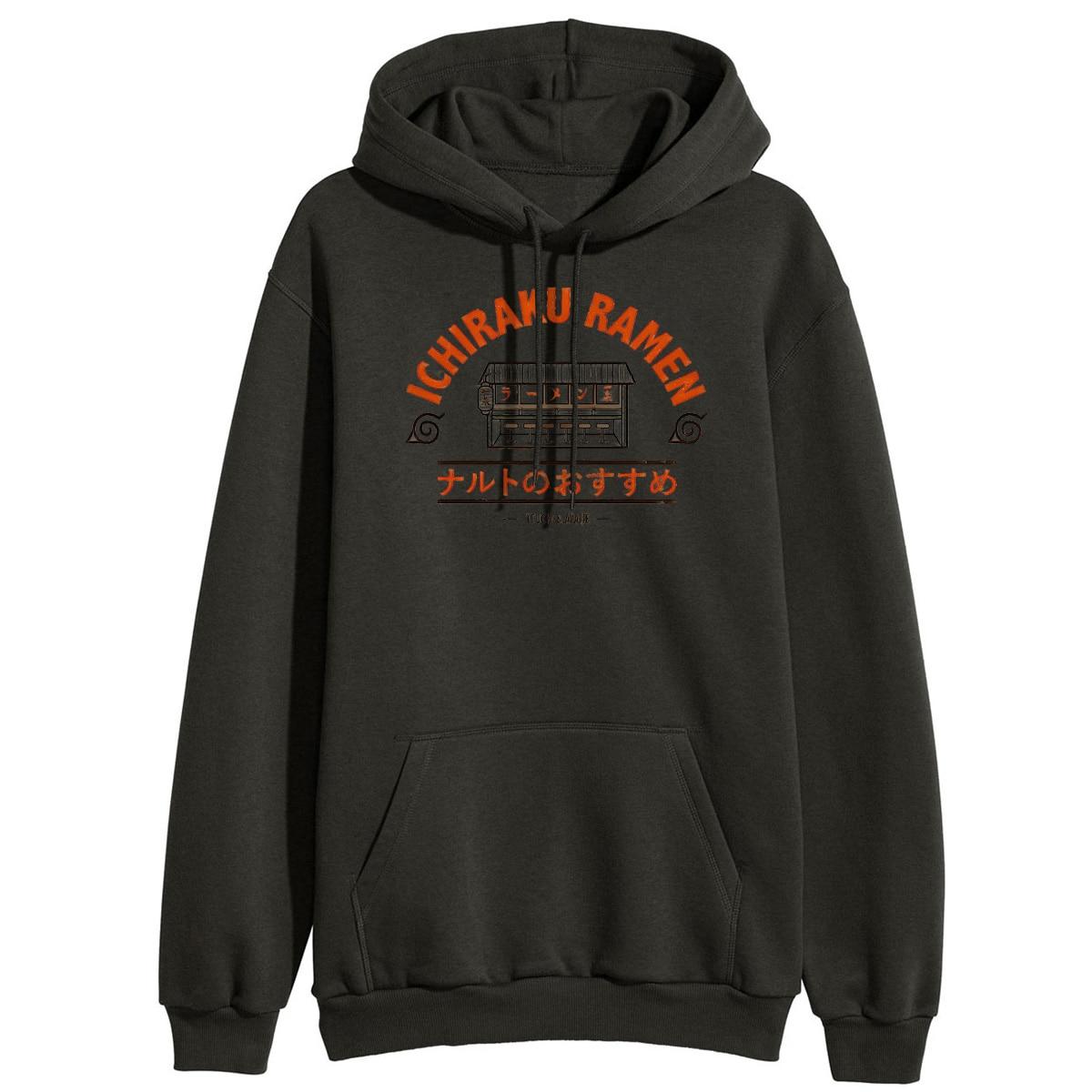 Naruto Ichiraku Ramen Japan Anime Hoodies Sweatshirt Women 2019 New Fashion Hooded Tracksuit Winter Warm Fleece Loose Hoodies