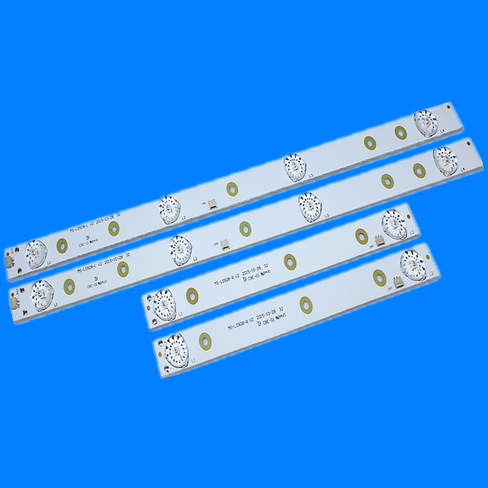 LED Backlight Strip Lamp For AKAI AKTV3221 32LED38P Smart JS-D-JP3220-041EC E32F2000 D32-0A35