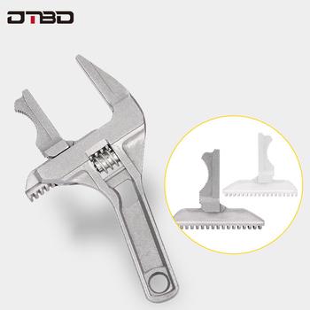 Klucz nastawny DTBD uniwersalny duży haczyk klucz łazienkowy 16-70mm klucz śrubowy klucz do nakrętek Multitool wysokiej jakości narzędzie tanie i dobre opinie CN (pochodzenie) STAINLESS STEEL Klucz do rur