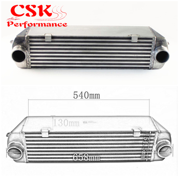 Twin Turbo Intercooler For Bmw 135 135i 335 335i E90 E92 N54 2006-2010 Silver image