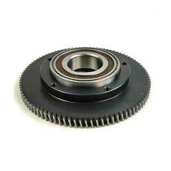 Trwała i praktyczna stalowa przekładnia centralna stalowa wewnętrzna przekładnia główna do Tongsheng TSDZ2 środkowy silnik prosty ząb spiralny w Akcesoria do rowerów elektrycznych od Sport i rozrywka na