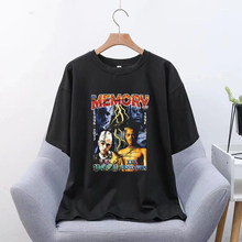 Lil Peep Merch Simple Style T Shirt Men Summer Top Ulzzang Gothic Funny T-Shirts Chic Grunge Tshirt Women Top 90S(China)