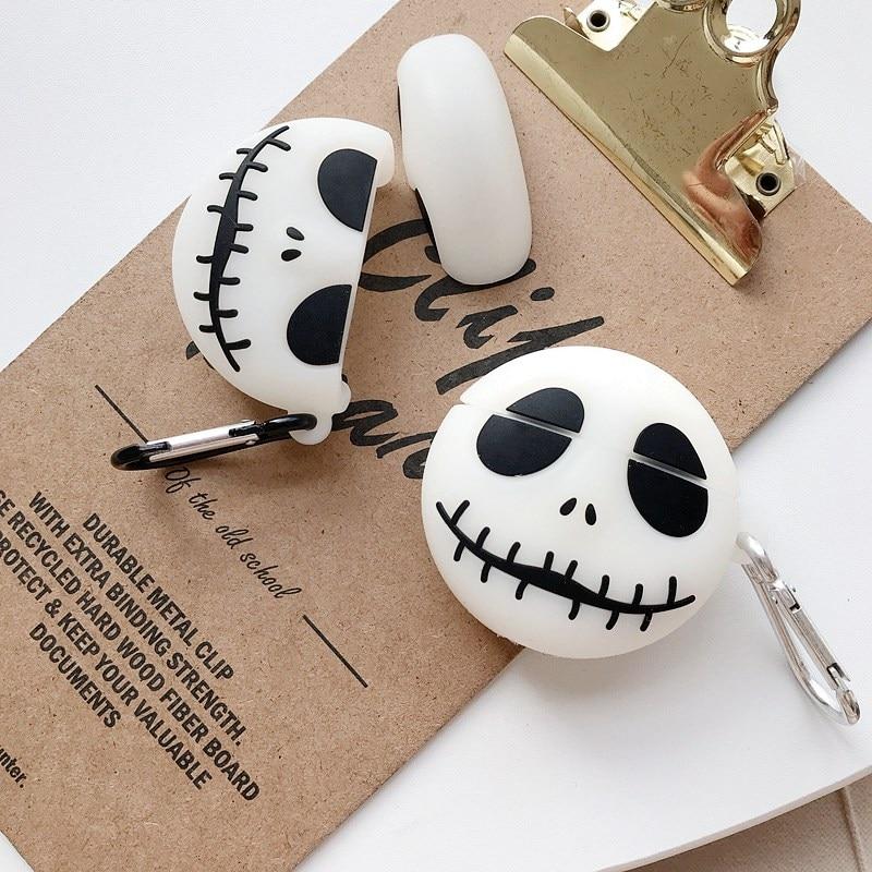 funny Luminous headphone case For Xiaomi Airdots Pro 2 2s /Air 2 Mi True Wireless Earphone 2 cartoon dog silicon Protection Case