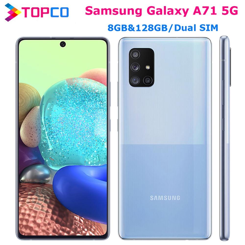Samsung Galaxy A71 телефон, Восьмиядерный, экран 6,7 дюйма, 8 ГБ + 128 ГБ